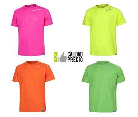 Camiseta técnica deportiva industria 100 poliéster S6610