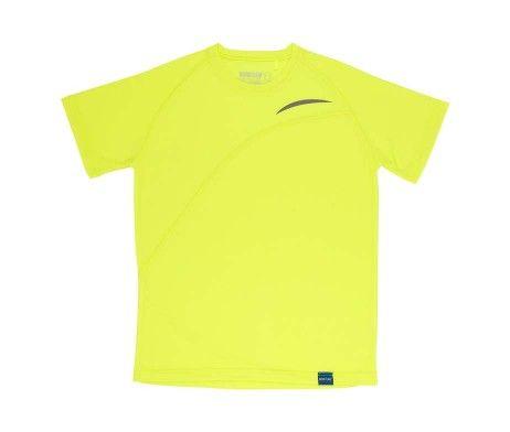 Camiseta deportiva amarilla