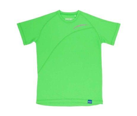 Camiseta deportiva verde fluor