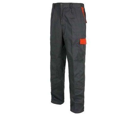 pantalon gris laboral alta resistencia