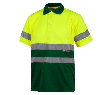 polo alta visibilidad amarillo verde