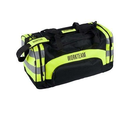 mochila uso laboral alta visibilidad