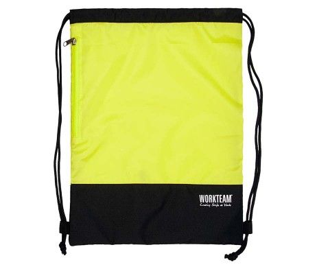mochila alta visibilidad amarillo