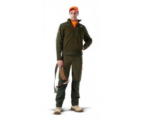 chaqueta punto verde caza, ideal para cazadores hombre o mujer o pescadores