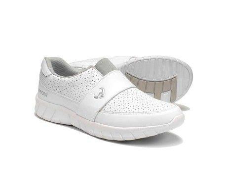 zapato sanidad muy cómodo hospitales blanco