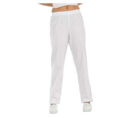 pantalón sanitario blanco uniformes médicos España