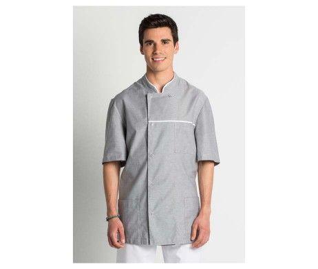 chaqueta caballero manga corta farmacia, peluquerias, spas y centros de estética