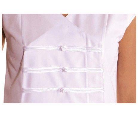 casaca blanca estilo oriental japonesa original