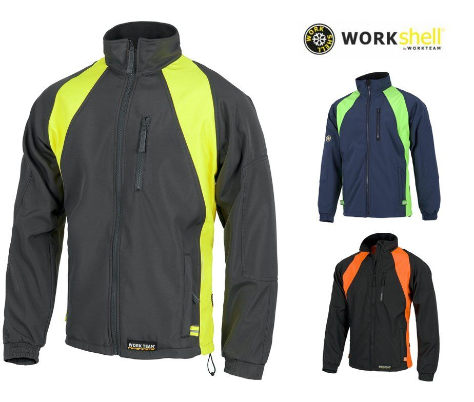 6a4ae28a232cd Chaqueta de trabajo térmica WORKShell para el frío e impermeable