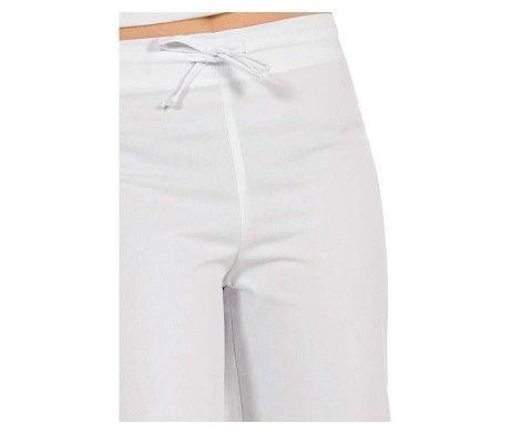 pantalón pirata blanco de mujer