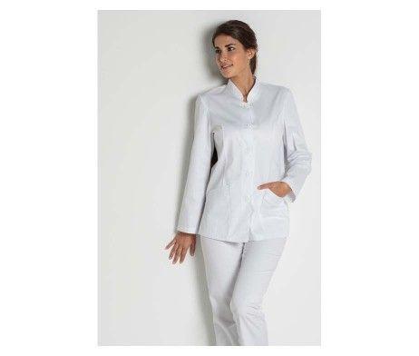 uniformes estetica elegantes casaca mujer original
