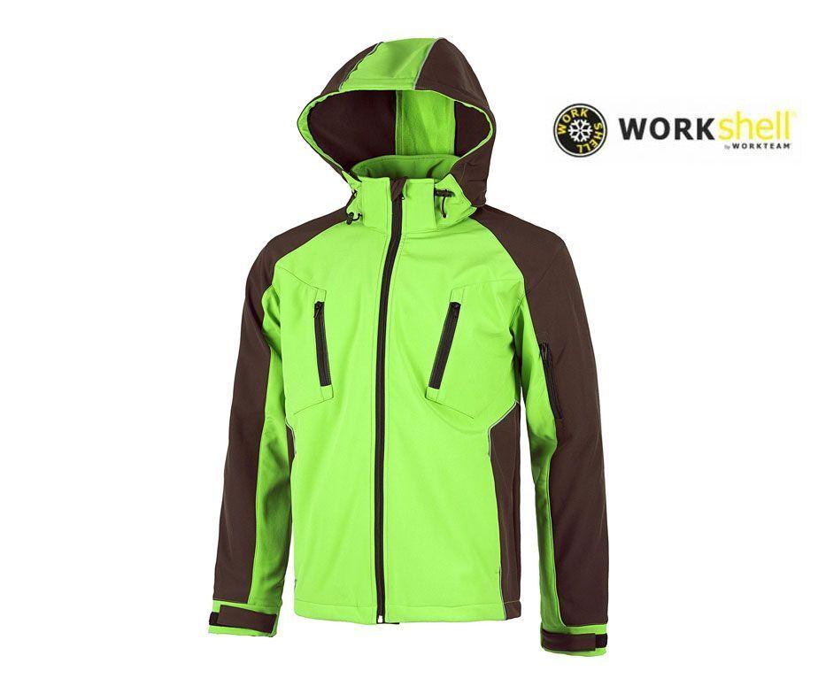 88b6fc8733991 Chaqueta de trabajo WORKShell térmica para el frío impermeable unisex