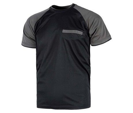camiseta unisex para hombre y mujer manga corta poliéster
