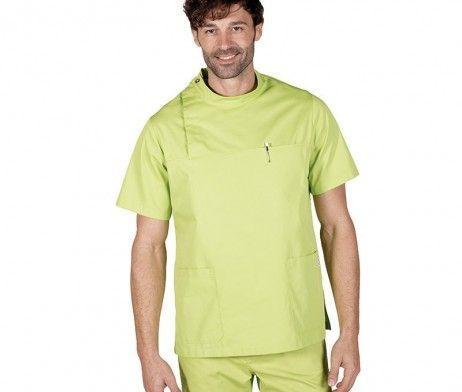 casaca sanitaria hombre verde