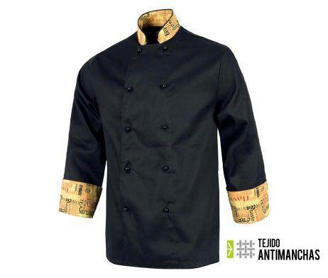 chaqueta chef antimanchas original chaquetilla