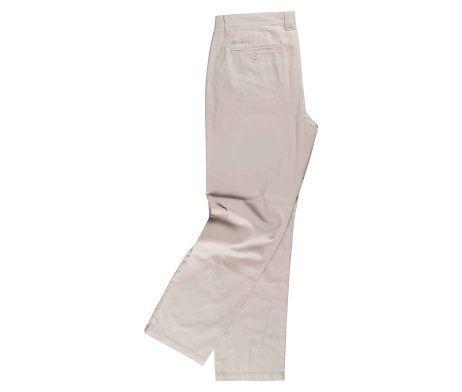 pantalón beige laboral de caballero