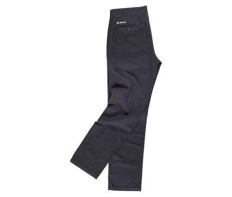 pantalón negro laboral de caballero