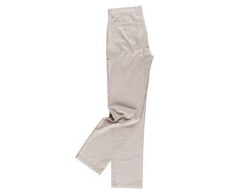 pantalón chino mujer beig