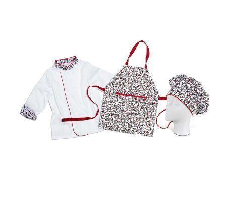 uniforme cocina laboral niños infantil