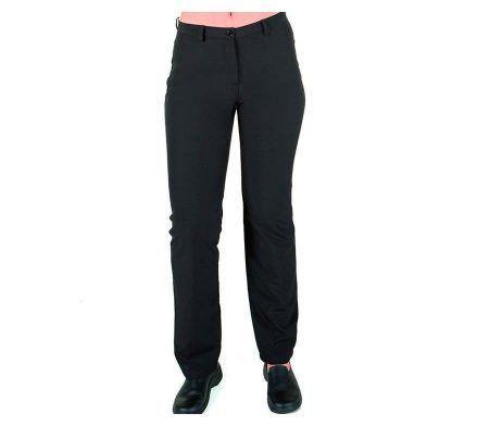 pantalón negro mujer poliéster