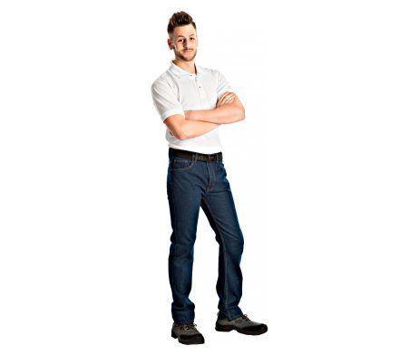 pantalón vaquero azul jeans laboral