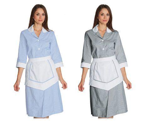 uniformes modernos y baratos personal de limpieza casas