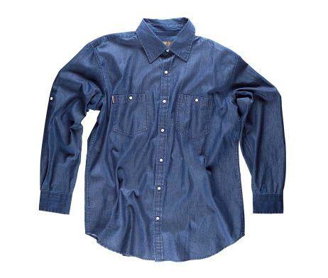 camisa vaquera laboral
