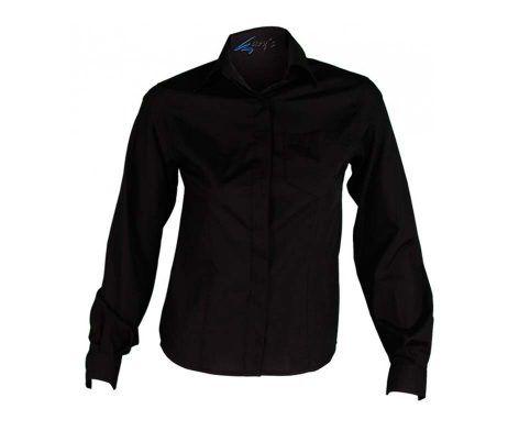 blusa camisa mujer con bolsillo camarera