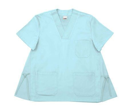 casaca embarazada sanitaria cuello pico manga corta colores alegres