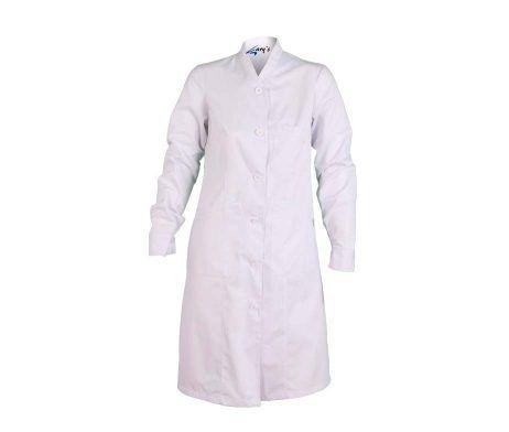 Bata médica blanca doctora