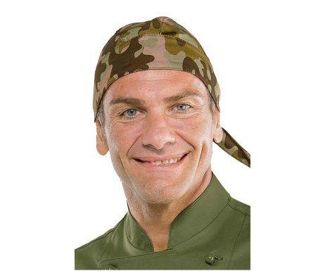bandana estampado militar