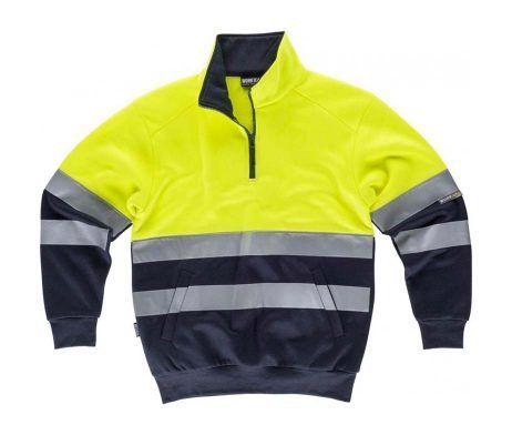 ropa alta visibilidad barata workteam amarillo