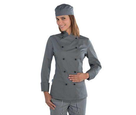 chaqueta chef mujer