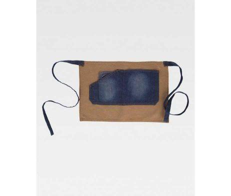 delantal mandil vaquero moderno