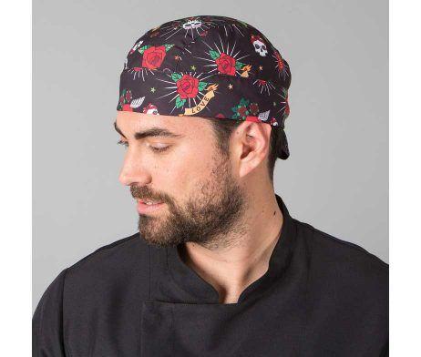bandana de cocinero con estampado original