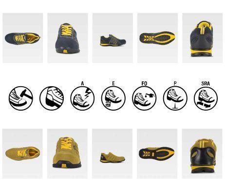 Zapatos de seguridad baratos y cómodos