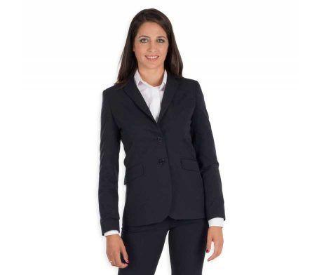 americana mujer para trabajar hotel recepcionista elegante