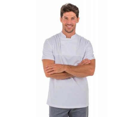 camiseta poliester peluquería antimanchas