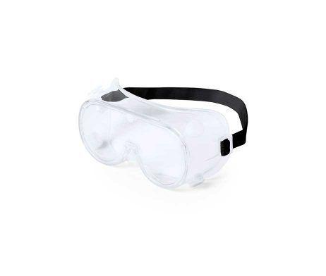 Gafas de protección de montura integral. Protección contra impactos, salpicaduras y polvo,