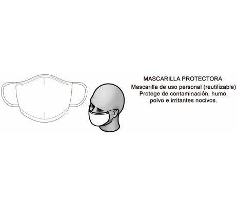 mascarilla lavable reutilizable covid-19