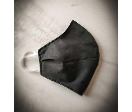 mascarilla lavable reutilizable covid-19 negra