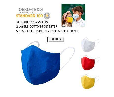 mascarilla niños lavable reutilizable