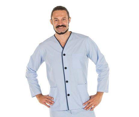 Pijama para pacientes de casaca y pantalón hospital