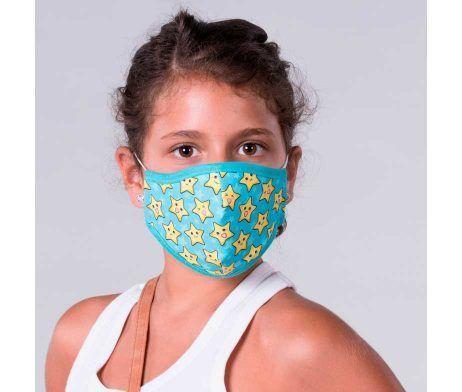 mascarilla infantil reutilizable homologada