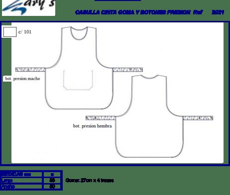 Casulla o estola de alimentación GARYS 2021 Lucia