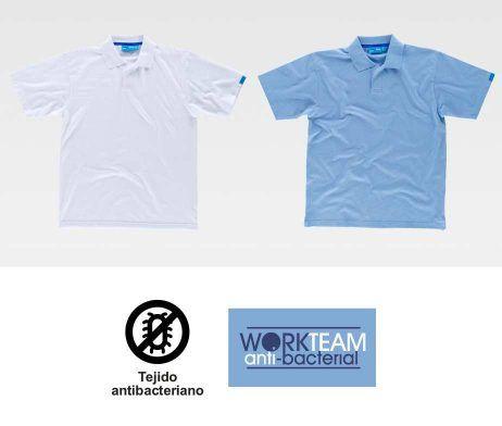 Polo 100% Algodón C3400 Antibacteriana WorkTeam