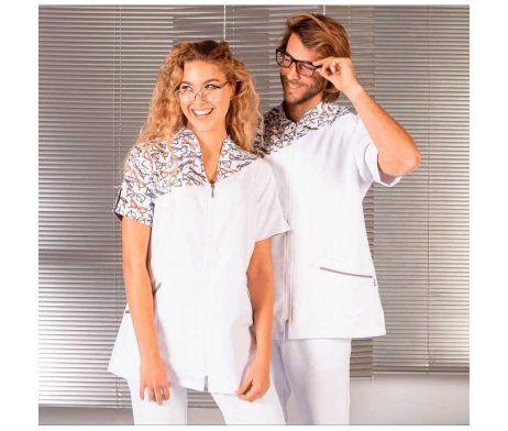 Casaca sanitaria mujer de microfibra para Óptica GLORIA Ref.: 6586 - Garys