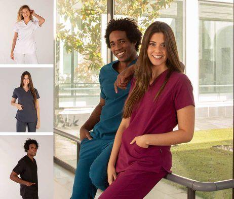 casaca sanitaria hombre y mujer