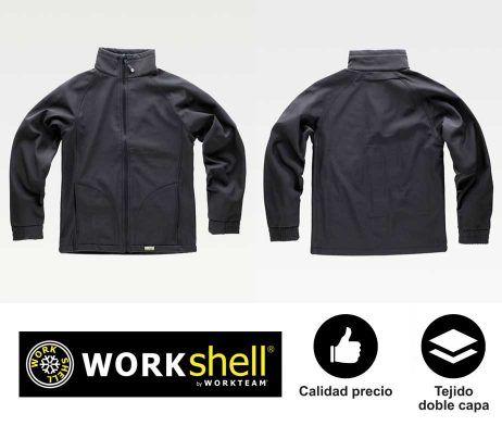 ropa de trabajo WorkTeam softshell WorkShell